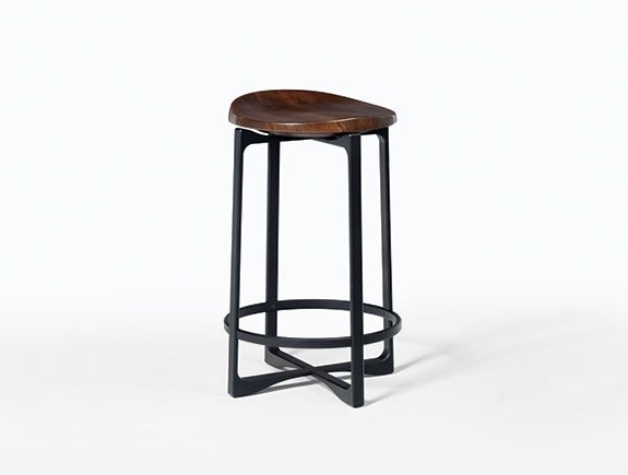 Pepper Counterstool Swivel Seat Holly Hunt Bar