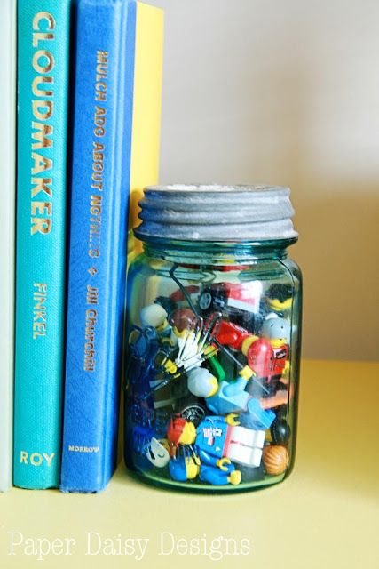 80 best book ends images on pinterest bookends book for Mason jar bookends