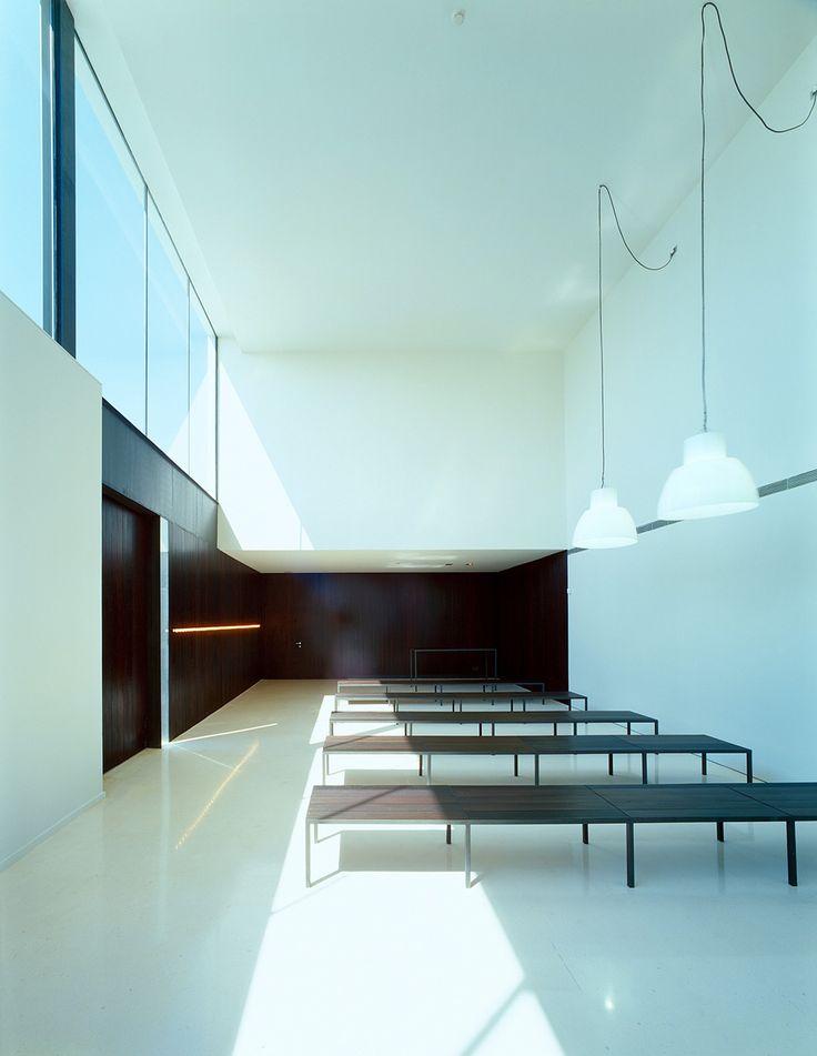 Municipal funeral services terrassa arquitectura - Arquitectos terrassa ...