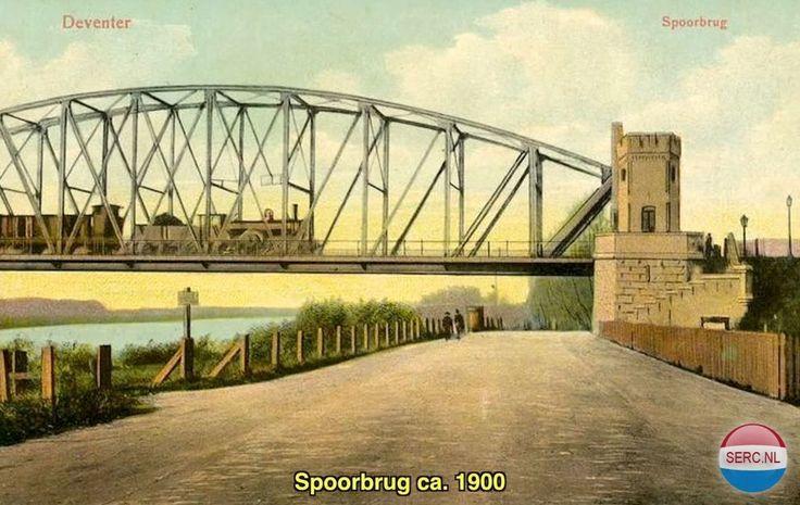Bruggen Deventer (jaartal: 1900 tot 1910) - Foto's SERC