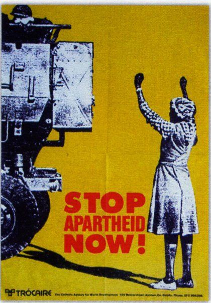 1970s Stop Apartheid Now!