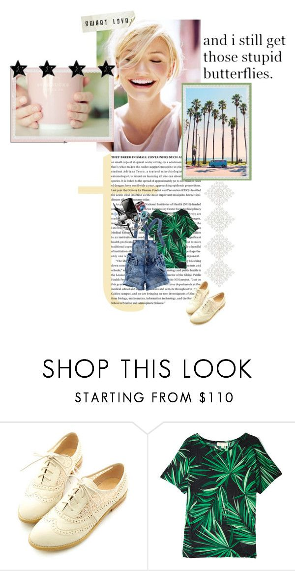 """""""Camron Diaz"""" by may-polyvore ❤ liked on Polyvore featuring Miss Dora, MICHAEL Michael Kors and H&M"""