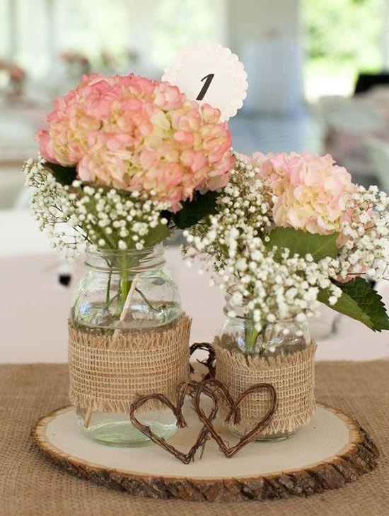 Decoração de casamento: rosa e rústico                                                                                                                                                      Mais