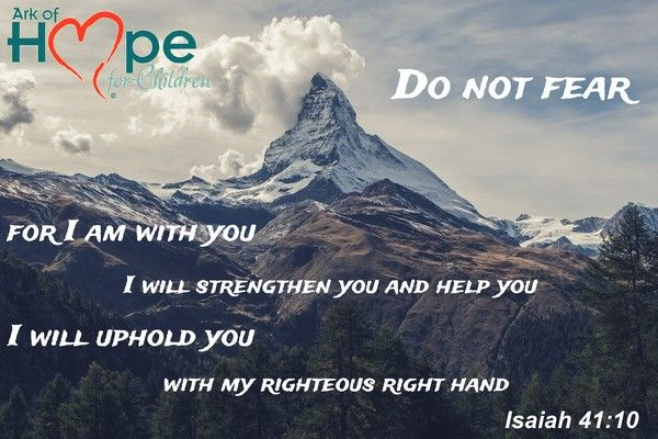 You're not alone. God will strengthen and uphold you. ~Isaiah 41:10 #AdultSurvivor, #Bullying, #ChildAbuse, #ChildTrafficking, #HumanTrafficking online support  meme by Ark of Hope For Children https://www.instagram.com/p/ http://bit.ly/XxzvNF