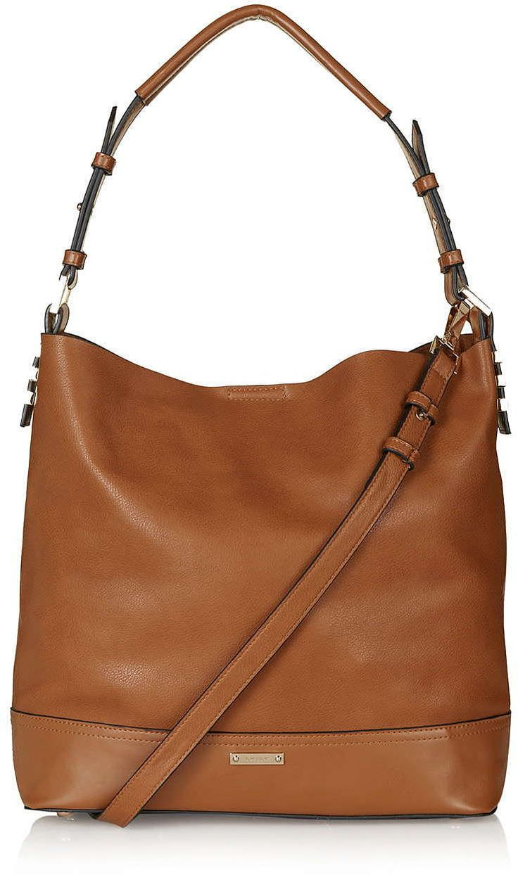 Womens windsor tan slouchy shoulder bag - tan, tan from Topshop - £36 at ClothingByColour.com