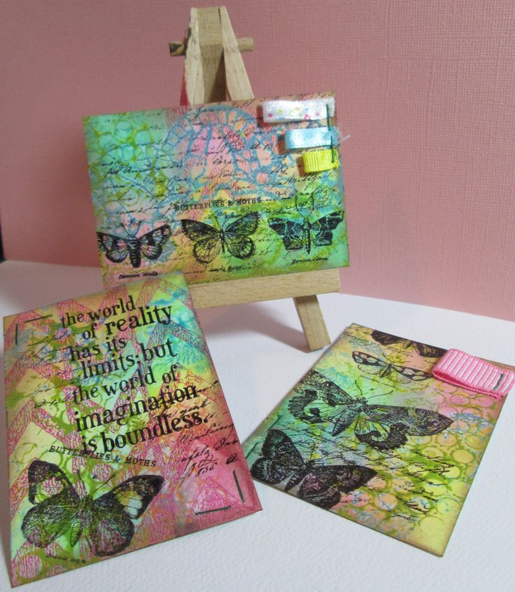 Bright cheery ATCs