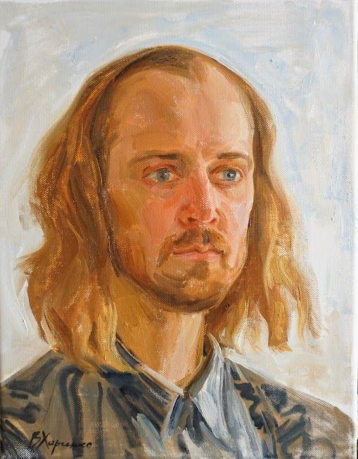 Portrait by Victoria Kharchenko