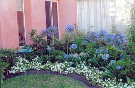 Idea para decorar un pequeño jardín