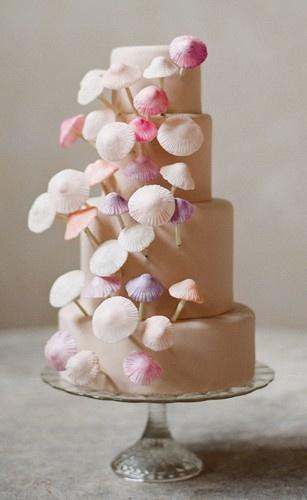 candy mushroom cake