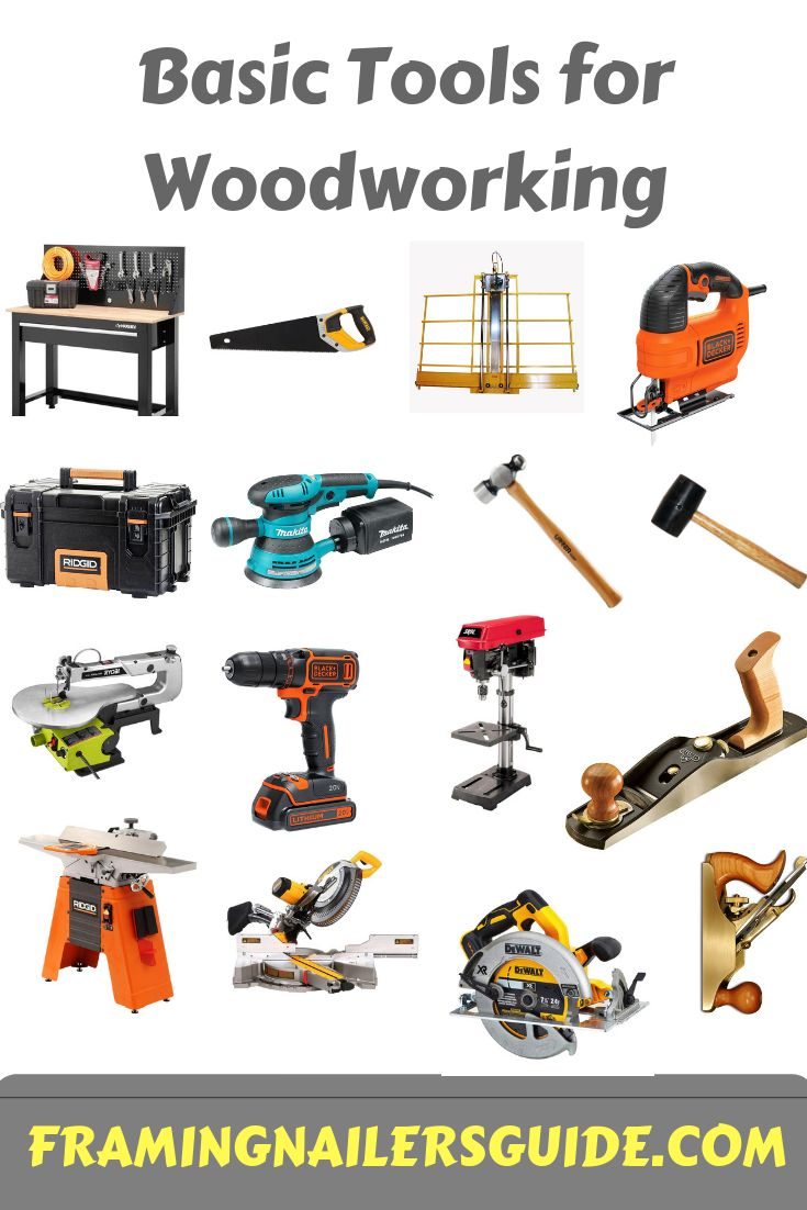 Basic tools for Woodworking: Must-have tools you should own #WoodWorking #WoodWorker #