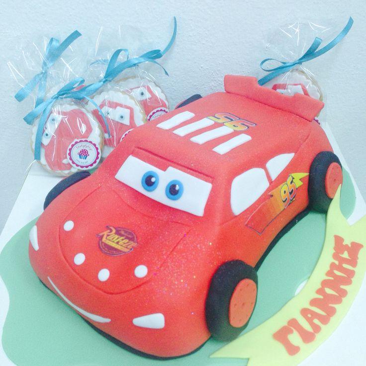 #mcqueen #car #cake by #sketiglyka