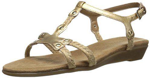 Aerosoles Women's Back Atcha Gladiator Sandal, Gold, 5.5 M US Aerosoles http://www.amazon.com/dp/B00SMJW1CG/ref=cm_sw_r_pi_dp_II4cwb1JC4X0C