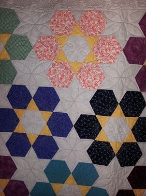 Made by Marilyn K. Waconia, MN, quilted by KARS Quilting Services, Chanhassen, MN