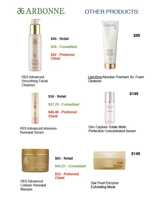 Arbonne products are highly concentrated so a little bit goes a long way! AND they aren't full of parabens, harsh chemicals, mineral oil, and they are vegan!