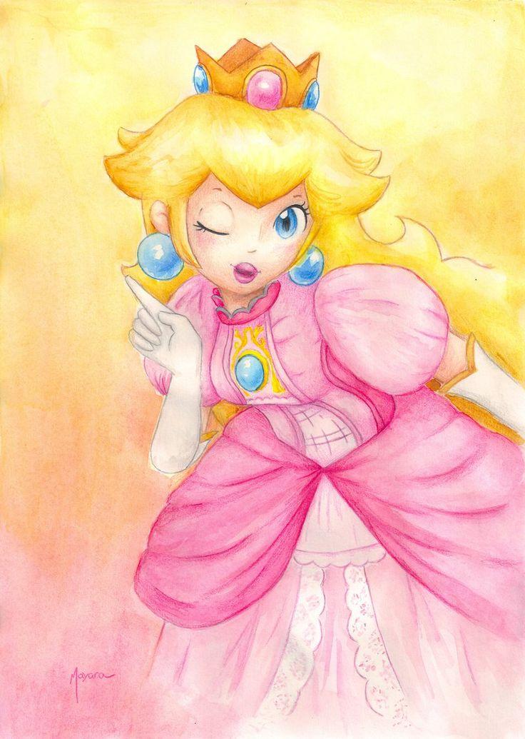 Princess Peach - SSB by Ma-yara.deviantart.com on @deviantART