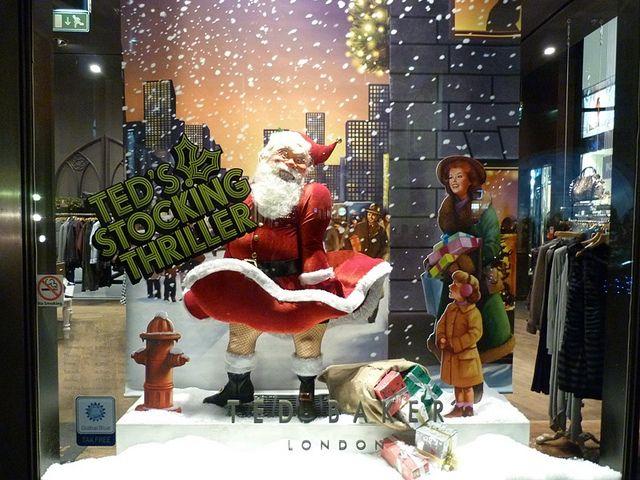 Christmas Window Displays | Christmas Shop Window Display in Liverpool One. | Flickr - Photo ...