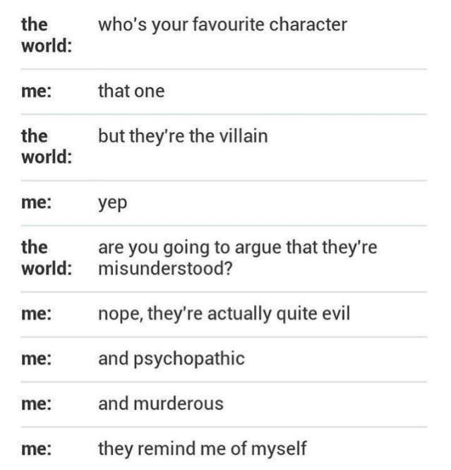 Lmaooooooo Hahahahahahahahahahahahahaha who is it that wrote about me in this? <<<<<< Loki and Moriarty!!!!!