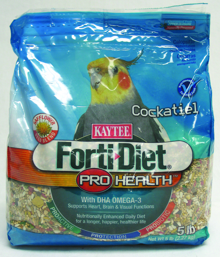Image of Kaytee Forti-Diet Pro Health Cockatiel Diet W Safflower