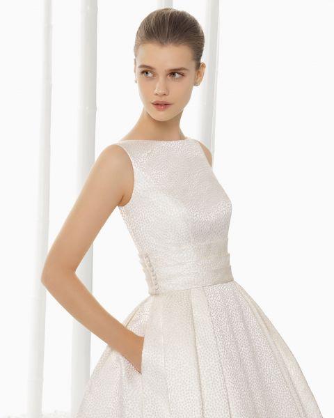 Vestidos de novia 2016 con cuello barco: Los diseños más sofisticados Image: 12