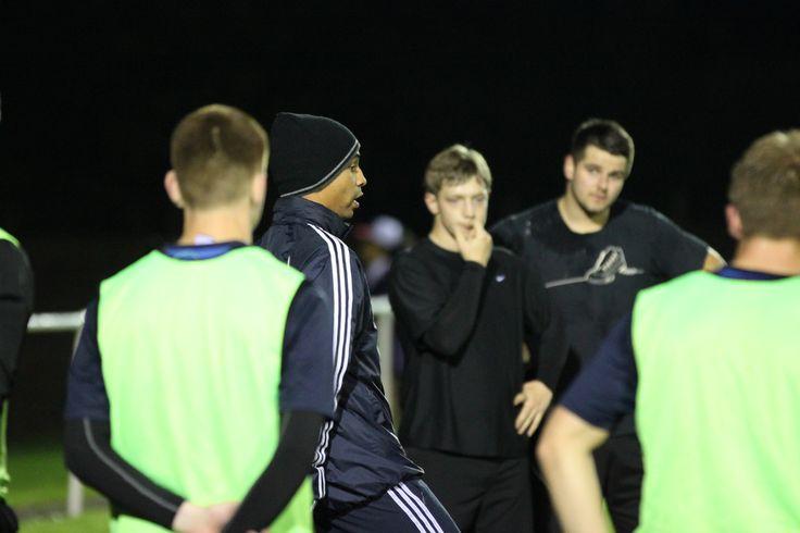 Abbey Hey FC training session