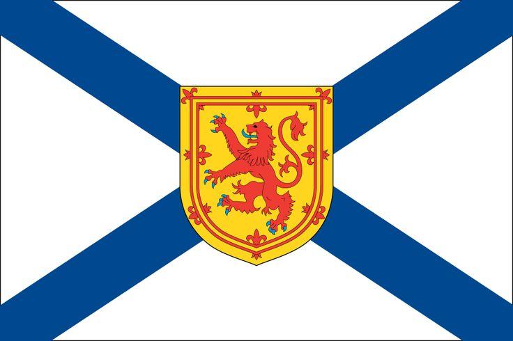 Nova Scotian Flag (Flag of Nova Scotia) - Canadian Province