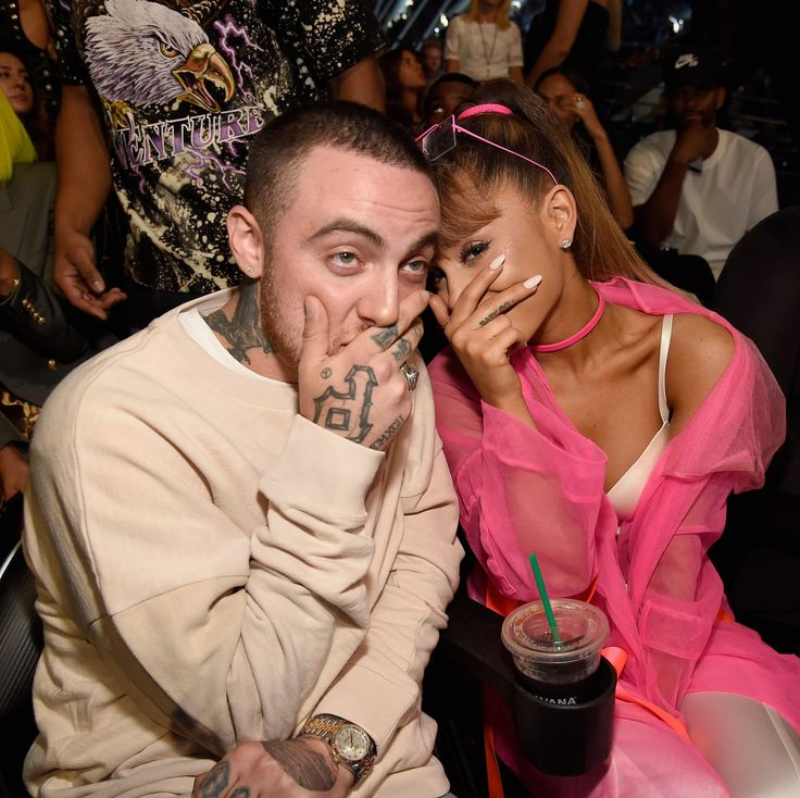 Arana Grande et Mac Miller aux MTV VMAs 2016