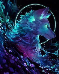 Alpha Wolf Anime Wolf Drawing Wolf Artwork Anime Wolf