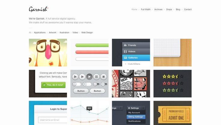 Garnish: Clean-Cut WordPress Portfolio Theme - http://themeforest.net/item/garnish-cleancut-wordpress-portfolio-theme/308989?ref=blackhatdunyasi