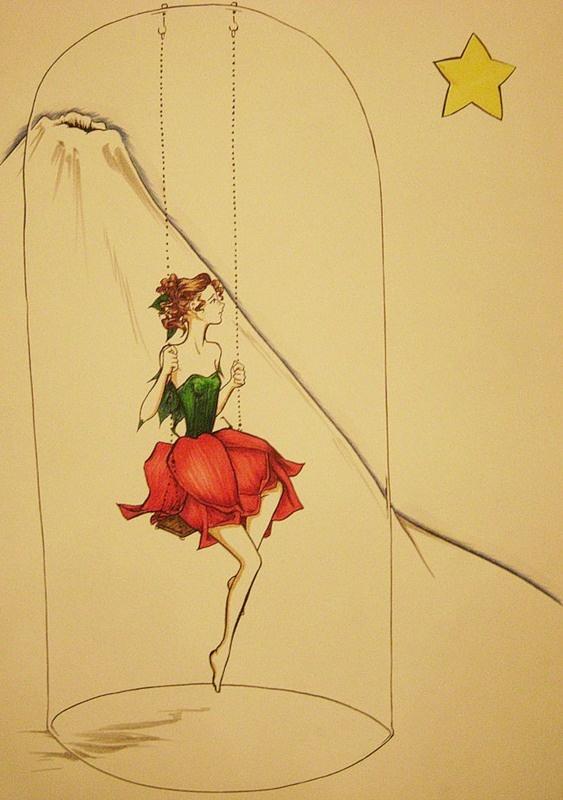 Прообраз капризной и трогательной Розы тоже хорошо известен, это, безусловно, жена Экзюпери Консуэло — импульсивная латиноамериканка, которую друзья прозвали «маленьким сальвадорским вулканом».