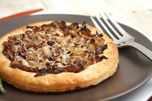Caramelized Onion Gruyere Tart | Favorite Recipes | Pinterest