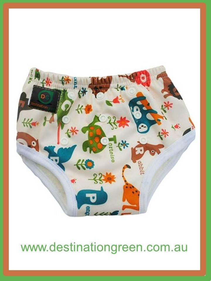 Reusable Training Pants - animals, $11.95