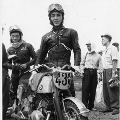1959年 浅間火山レース  ホンダCB92 CBシリーズの始まり