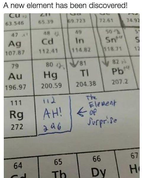 Bad/Funny Science Jokes