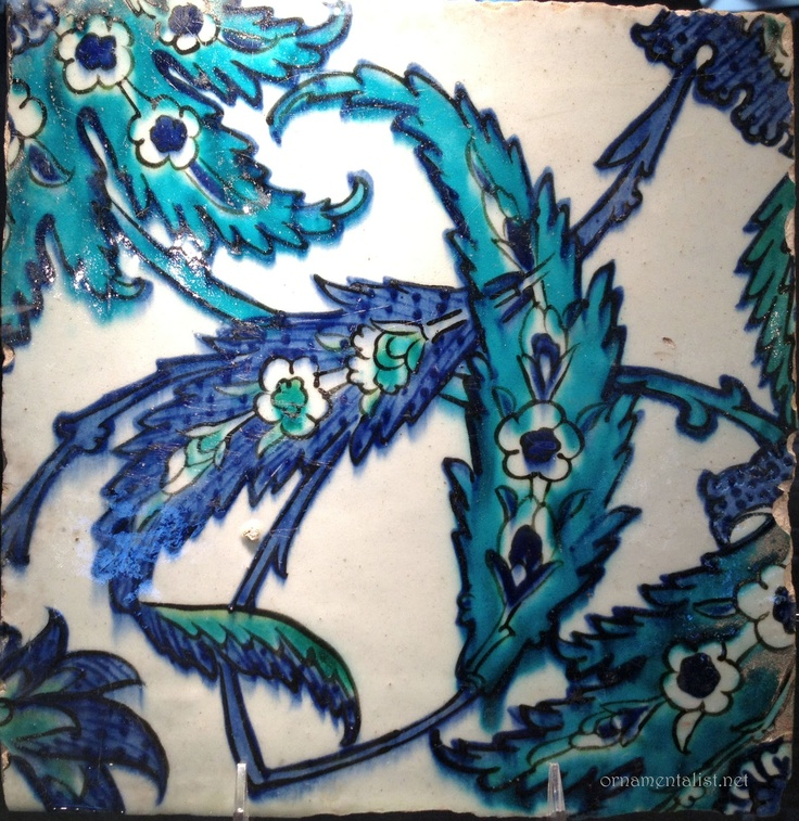 antique Iznik tile, Turkey