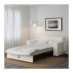 IKEA - VILASUND, Sovesofa 2, Dansbo beige,  , , Pocketfjedre følger kroppens konturer og holder rygsøjlen lige, når du sover.En fast madras, der gi