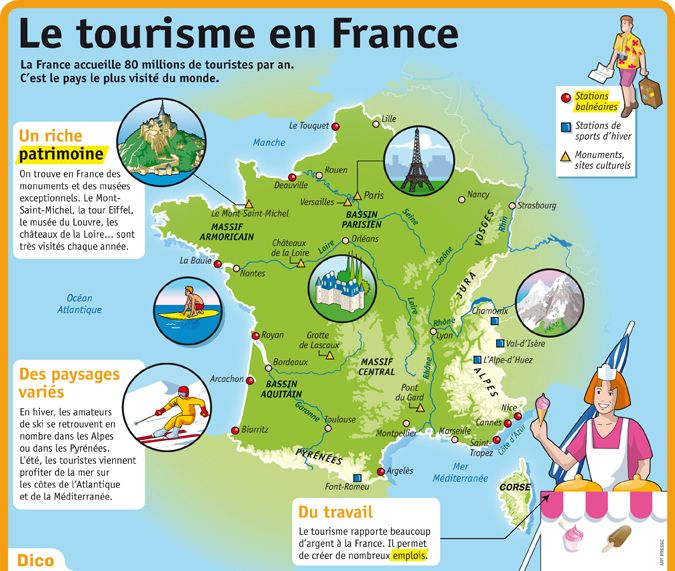 Tourisme en france for Site touristique france