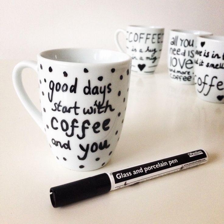 Freubelaanrader: porseleinstift #coffee #koffie