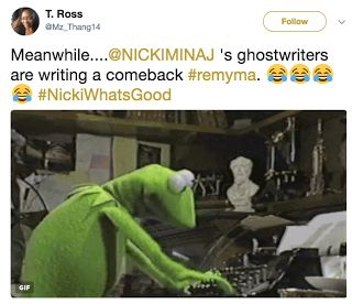 "Nicki Whats Good Memes - Top 10  Remy Ma called out Nicki Minaj at the 2017 VMAs with a simple question: ""Nicki whats good?"" Nicki asked Miley Cyrus ""Miley whats good?"" at the 2015 VMAs. #NickiWhatsGood is now trending on Twitter and it brought back #MileyWhatsGood. Nicki most likely won't respond but Remy used her name to break the Internet.  Huffington Post explains that Nicki looked stunning in her pink latex. Minaj has been focusing on features but her fans are ready for her new album…"