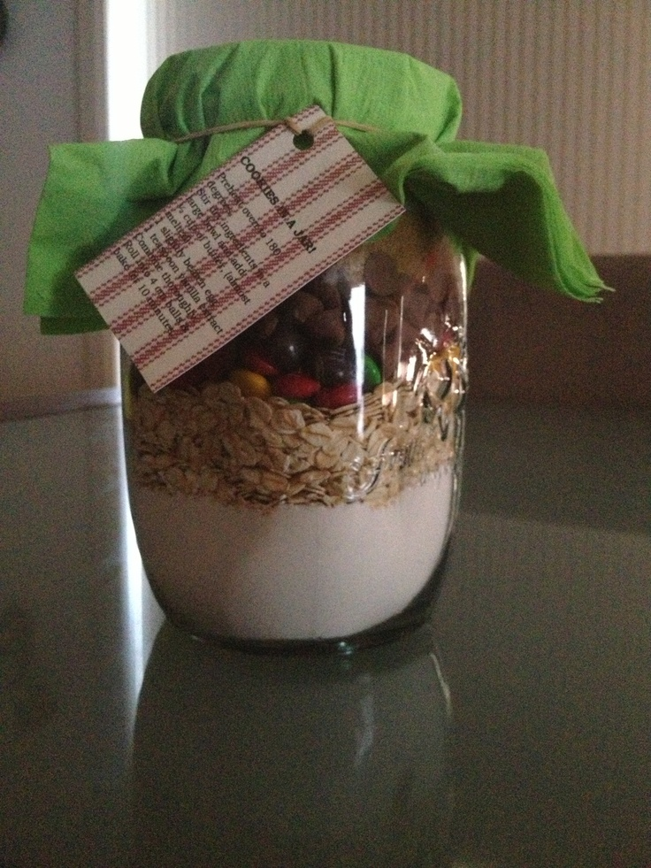 Cookies in a jar - very proud of this one!