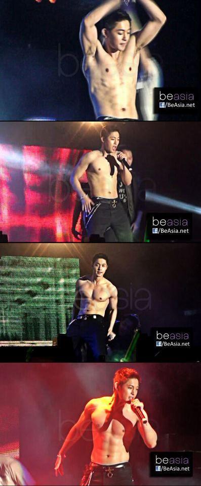 Kim Hyun Joong's abs abs cocholate abs abssss :9 OTL