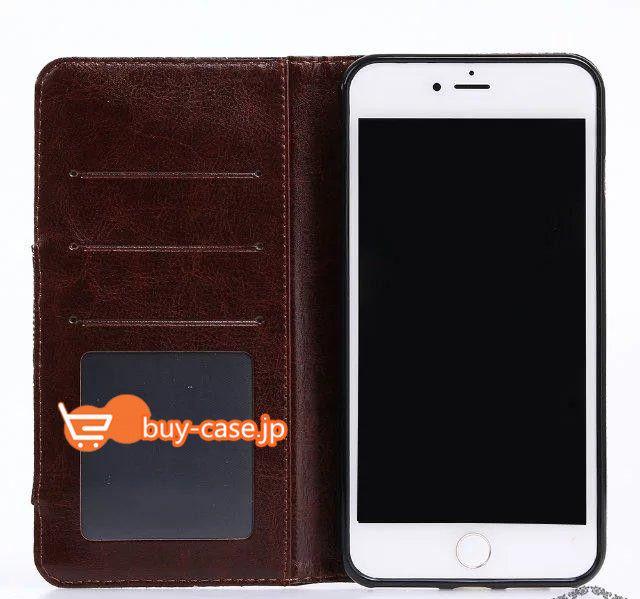 アイフォン7plusケース カード収納iPhone7携帯カバー デニム手帳型
