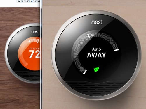 Round Thermostat Concept