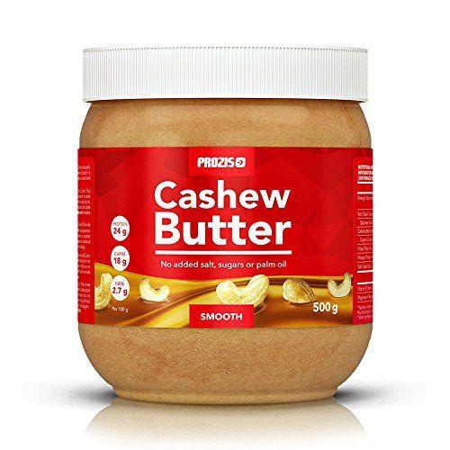 Prozis Cashew Butter 500g - Textura Deliciosa y Cremosa - Fuente Natural de Proteína - Apto para Veganos, Dietas Kosher y Halal - Sin Lactosa, Sal, Azúcar o Aceite de Palma #Prozis #Cashew #Butter #Textura #Deliciosa #Cremosa #Fuente #Natural #Proteína #Apto #para #Veganos, #Dietas #Kosher #Halal #Lactosa, #Sal, #Azúcar #Aceite #Palma