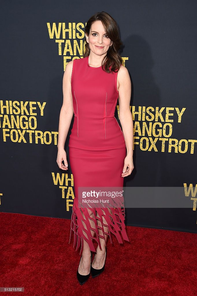 Producer/Actress Tina Fey attends the 'Whiskey Tango Foxtrot' world premiere at AMC Loews Lincoln Square 13 theater on March 1, 2016 in New York City.