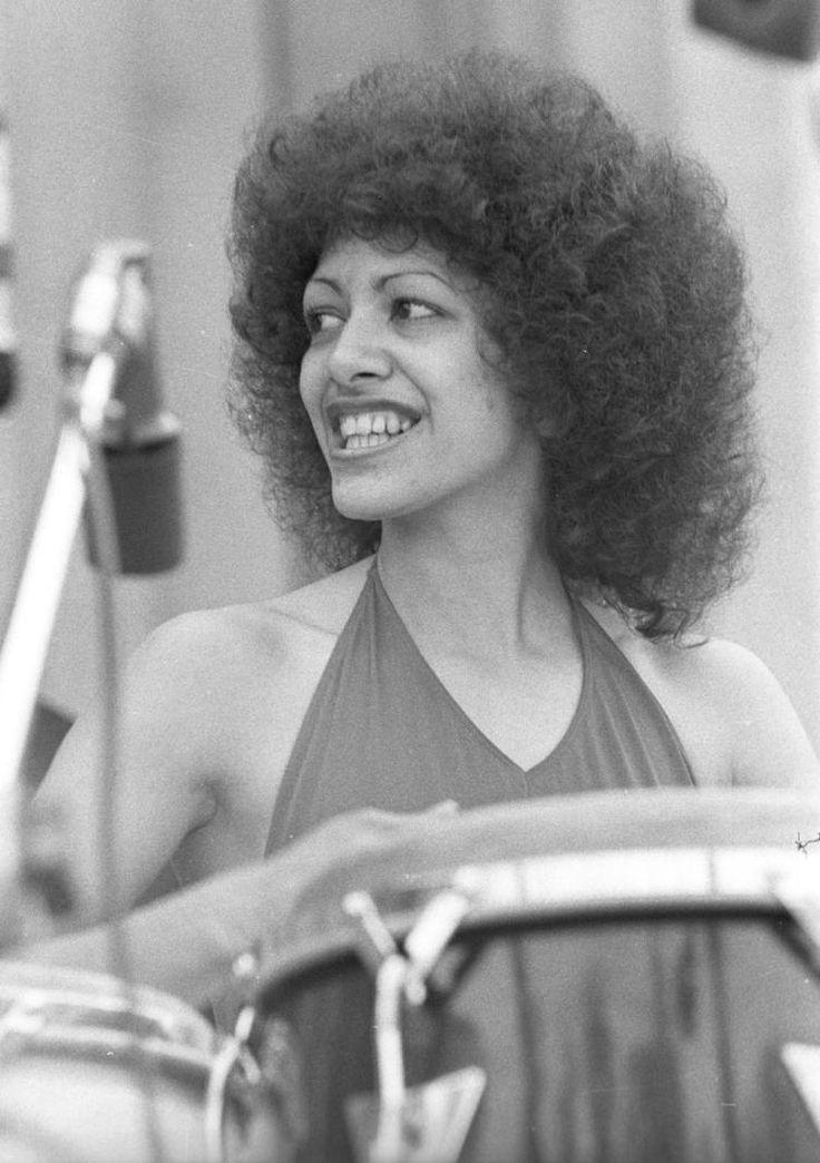 Sheila Escovedo performs in Berkeley, California in 1978.