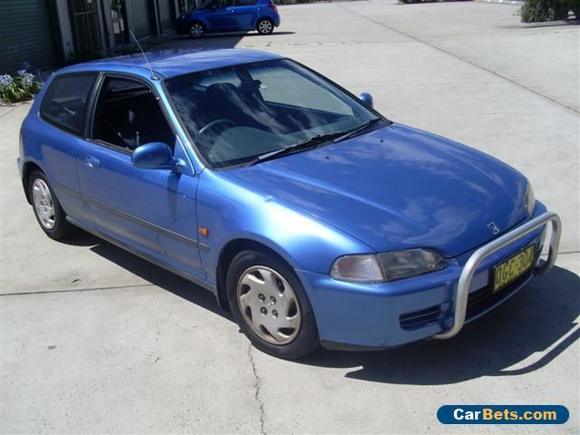 HONDA CIVIC AUTOMATIC AIR AND STEER10/1993 WITH ONLY 133000 KLS DONE CHEAP #honda #civic #forsale #australia