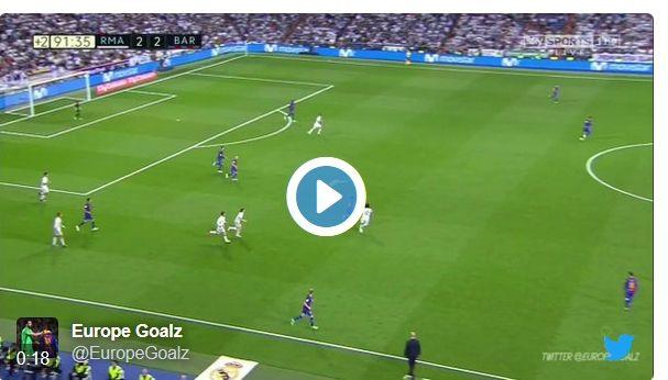 VIDEO ULTIMA HORA: Messi fa callar el Bernabéu amb un gol a l'últim segon -