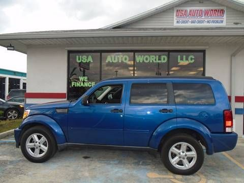 We have this 2009 Dodge Nitro 4 by 2 SE 4 door SUV for sale. Has 100k+ miles. Has a 3.7 liter V6 automatic 4 speed transmission. Loaded with features. Including air conditioner, power outlets, braking assist, SiriusXM CD player, power windows and locks, Auntie theft device, dual airbags, and a roof rack. Asking only $6,900 Cash! Call for details. 772-62six-6558