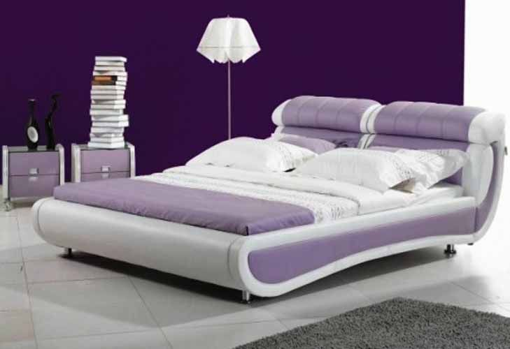 Awesome Chambre A Coucher Blanche Et Mauve Gallery - Yourmentor ...