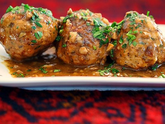Chicken Marsala Meatballs recipe